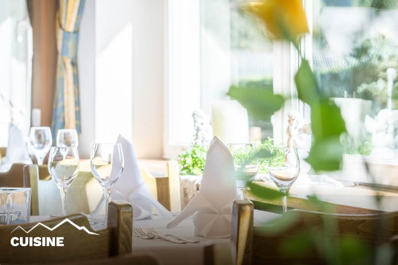 Cuisine Hotel Antholzerhof